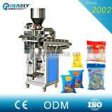 MST / PE / PET / PE Packing Material Salad Dressing / Butter / Mayonnaise Filling Machine