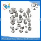 "made in china casting stainless steel press pipe fittings 1/4"" bsp"