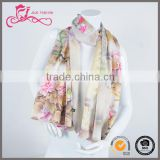 Women fashion scarf factory direct wholesaler scarf digital print custom design silk scarf