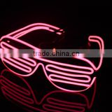 Glowing Party Rave EL Wire Glasses/EL Sunglasses/EL Light Glasses/Lighting EL Glasses