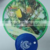Wholesale Dog Toys From China Fly Reel OEM Folding Fabric Fan Frisbee