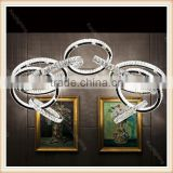 2016 New Design High-end Modern K9 Crystal Ceiling Light, luxury crystal ceiling chandelier lighting for hotel, villa, hall