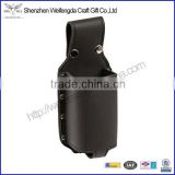 New Arrival Fashion International Handmade Black Leather Beer Bottle Holster