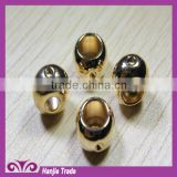 High-grade delicate rose gold beautiful head, zinc alloy bell button hole piercing