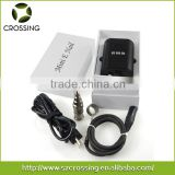 Crossing digital temperature controller box mini portable heater henail with gr2 domeless titanium nail