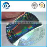 Custom Make Logo Security Hologram Sticker Printer                                                                                         Most Popular