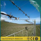 Guangzhou factory free sample secure barbed fence wire/ galvanized barbed wire/razor wire