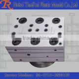 u shape plastic material extrusion cover profile mould