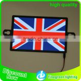 el flashing flag car sticker led custom flag car sticker