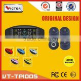 2016 Victor LCD display car tpms with bluetooth