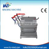 WD-6988A4 Functional wire plastic spiral comb Binding Machine