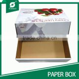TAKE AWAY CORRUGATED FRESH FRUIT BOX FOR CHERRY PACKAGING SHIPPING
