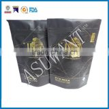 Printing block matte turmeric powder Curry powder zipper bag/custom make whey protein packaging bags for food packing