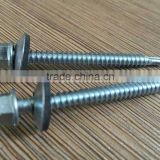 global economic Columbia SUPPLIER r Bulk packing biack and zinc Fine thread 0508-26 roofing screw with washer rubber