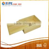 New design and hot sell pine wooden box for Craft, Jewelry, Tea, Exhibition , wine, beverage