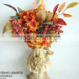 Excellent quality beautiful artificial hydrangea holly leaves berries harvest home decoration bouquet