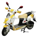 "hot sale yellow color 16"" 500W e-scooters with suspension fork"