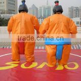 2016 Hot sales adult inflatable sumo wrestler costume sale