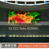 RGB mix color led module / display smd p6 screen panel