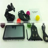 Customize 5 inch high resolution tft screen gps smart gps car dvd made in china gps navigation