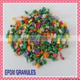 Hot sale EPDM Black Granules, Colored EPDM crumb rubber, EPDM granules for outdoor playground-FN-A-16081102