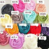 Hot fold scarf Fashion Candy colorful scarf flowing silk scarves JPscarves001