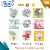 9*9cm Flower Decals Removable Tiles Stickers For Walls