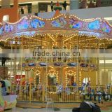 amusement park double decks carousel
