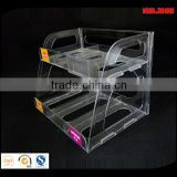 Clear acrylic product display box/case/stand, acrylic cosmetic organizer box,counter display box,Plexiglas/perspex