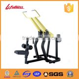 Super heavy duty lat pulldown hammer strength machines LJ-5702A