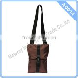 Adjustable Strap Messenger Bag with Buckle Opening in China