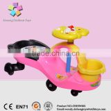 wholesale CE new PP children swing car/kids twist car/baby swing car twist car for kids to drive with CE approve