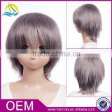 wholesale In stock Togainu no Chi Akira short grey cosplay wigs