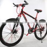 made in china factory hot sell 26 inch high quality with Aluminum alloy frame suspension mountain bicycle