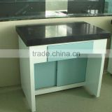 Electro--Galvanized Steel Fabrication Chemical Lab Vibrating Table With Marble Stone Top