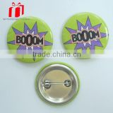 Personalized Birthday Tin Button Badges