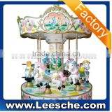 2015 funny six seats carousel for sale coin operated machine merry go round horse carousel amusement ride for children