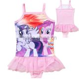 one-piece Polyester Frozen Swimsuit For Kids Girls Swimwear