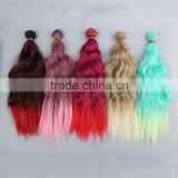 25CM Wavy Hair Extension for DIY Doll Wig