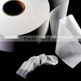 Import abaca pulp material to producing high quality tea bag filter paper for empty tea bag using.