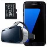 Samsung Galaxy S7 Edge SM-G935F + Gear VR + 64GB SD Card (FACTORY UNLOCKED)