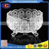 high quality clear fruit ice cream glass bowl