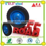 High quality 6 inch wheel rubber wheel/solid rubber wheel/Metal rim wheel/Pneumatic wheels/Ruled wheel