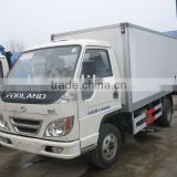 3t refrigerated van truck, refrigerated cold room van truck,refrigerator van truck for meat and fish