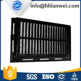 Road trench drain grate
