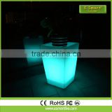Outdoor solar led plant pot light/ indoor planter with light/ large size plastic plant pots
