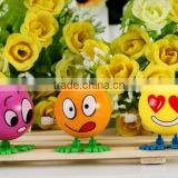 baby education toys wind up toys emoji wind up/for promotions kids toys