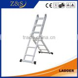 extension agility super folding telescopic aluminium adjustable steel folding step ladder