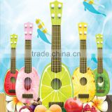 Promotional Gift Children Musical Toy Plastic Fruit Acoustic Guitar Toy for Kids