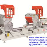 Double Mitre Automatic Pendulum Aluminum Cutting Saw Machine, aluminum door window machine